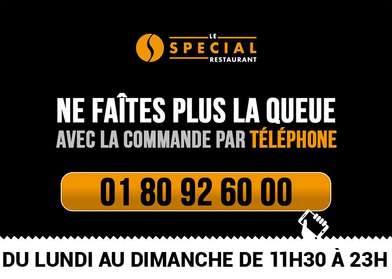 le special commande téléphone