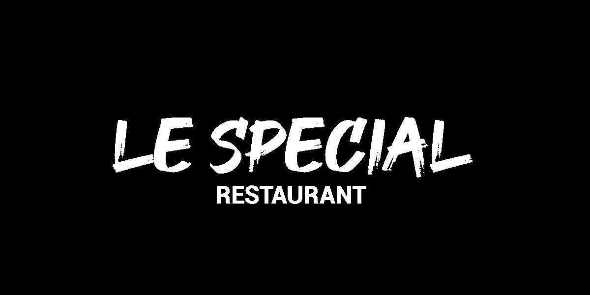 carte menu le spécial