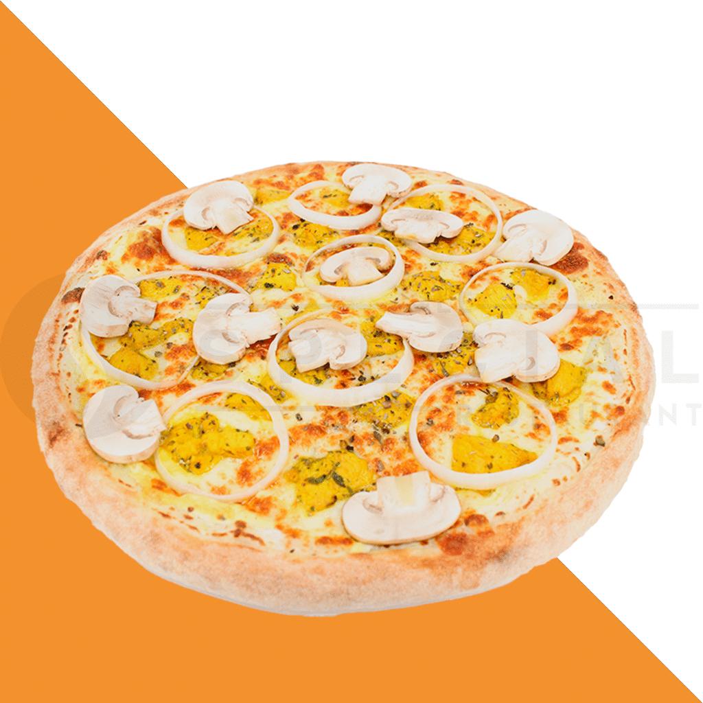 le special pizza presentation