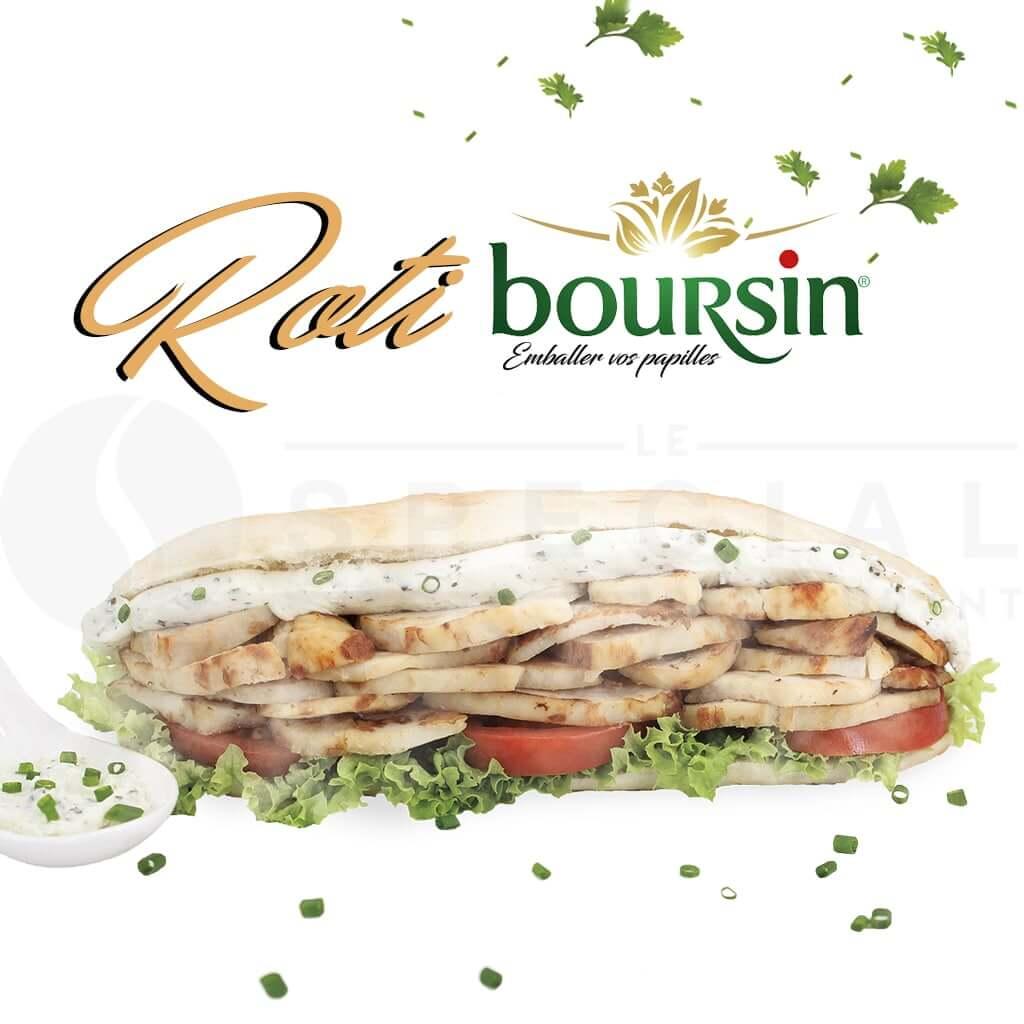 presentation roti boursin